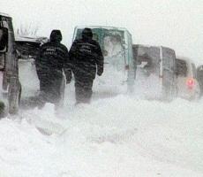 На дорогах Одесской области замерзают люди