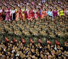 """В Северной Корее отмечают """"День Солнца"""""""