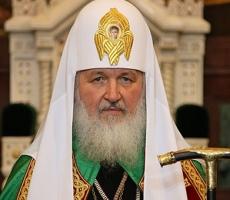 Святейший Патриарх Кирилл поздравил православных с пасхой