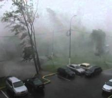 Ужасающая Буря в Москве