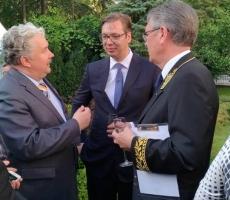 Балканское турне Сергея Бабурина: беседа с президентом Сербии состоялась