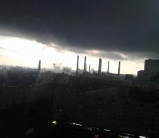Москва штормит
