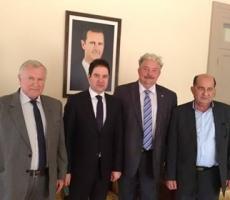 Сирийский министр спас жизнь российскому политику Сергею Бабурину