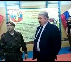 Сергей Бабурин поддерживает военно-патриотическое воспитание молодежи