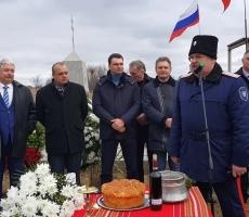 В Болгарии открыли памятник русским солдатам и казакам