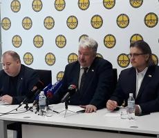 Сергей Бабурин провел пресс-конференцию по поездке в Болгарию