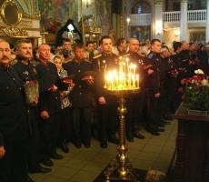 Казаки России празднуют Святую Пасху