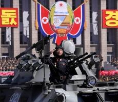 Сергей Бабурин посетил военный парад в Пхеньяне