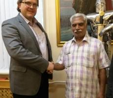 Ведущий специалист по санскриту посетил Москву