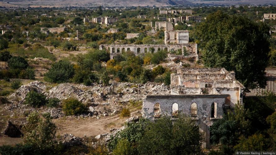Нагорный Карабах - военно-стратегический узел Кавказа. Видео!