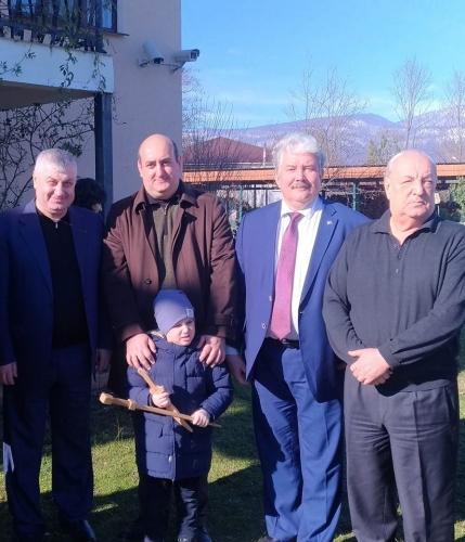Сергей Бабурин посетил Абхазию. Вечная память Сергею Багапшу!
